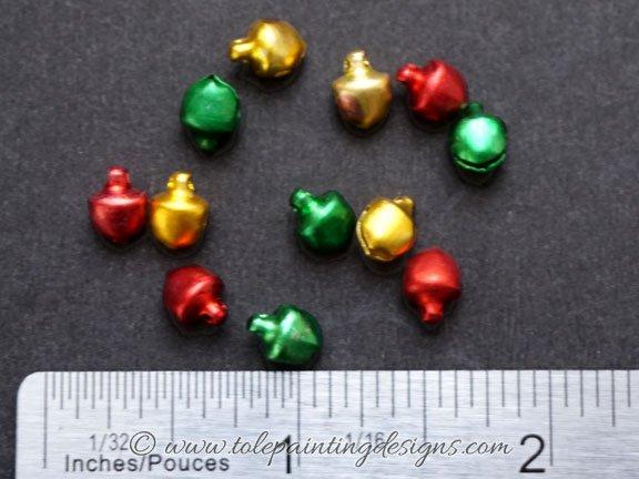 6mm Bells Craft Supplies