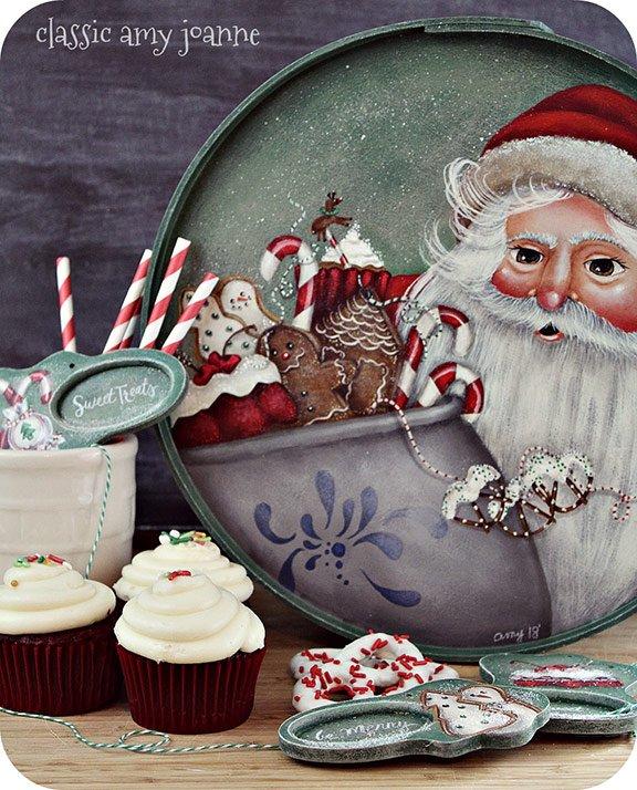 Amy Mogish Christmas Painting Pattern