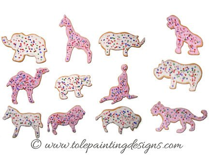 Animal Cookies Craft Project