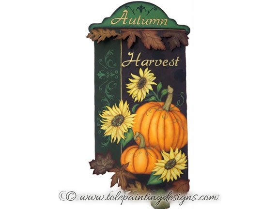 Autumn Harvest Painting Pattern