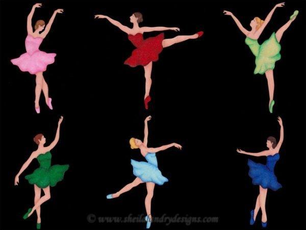 Ballerina Painting Pattern