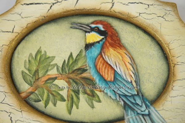 Bee Eater Painting Pattern