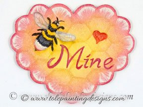 Bee Pin Painting Pattern