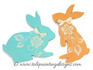 Bunny Decorative Painting Pattern
