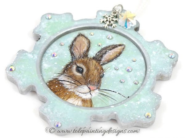 Bunny Ornament Painting Pattern