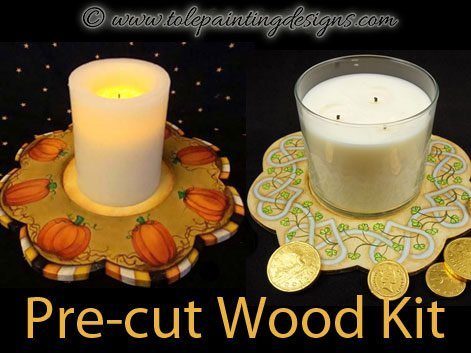 Candle Tray Painting Surface