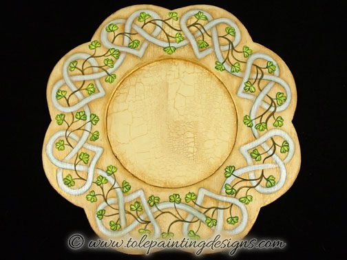 Celtic Tray Painting Pattern