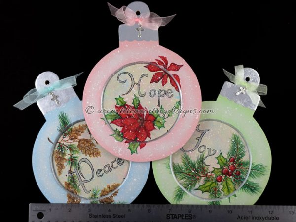 Christmas Ornament Painting Pattern