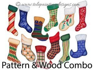 Christmas Stockings Decorative Painting Supplies