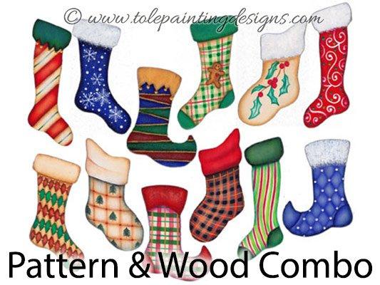 Christmas Stockings Decorative Painting Supplies