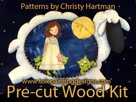 Christy Hartman Painting Surface