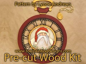 Clock Decorative Painting Surface