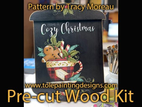 Cozy Christmas Decorative Painting