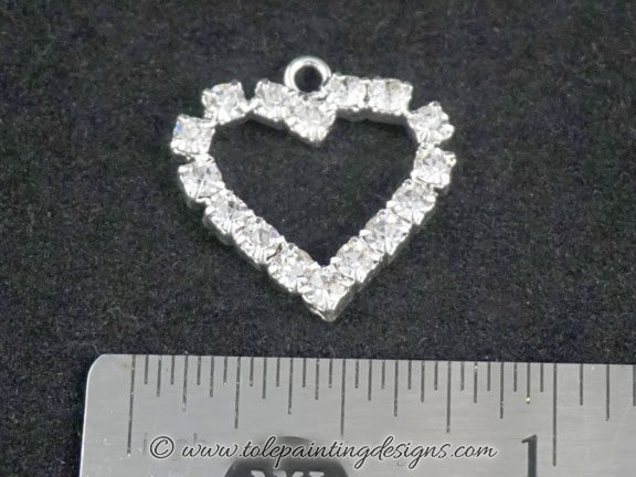 Crystal Heart Painting Supplies