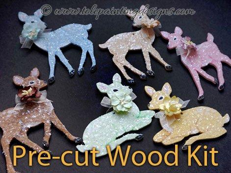 Deer Decorative Painting Ornament