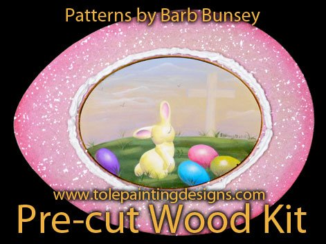 Easter Decorative Painting Pattern