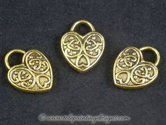 Engraved Charms Craft Supplies