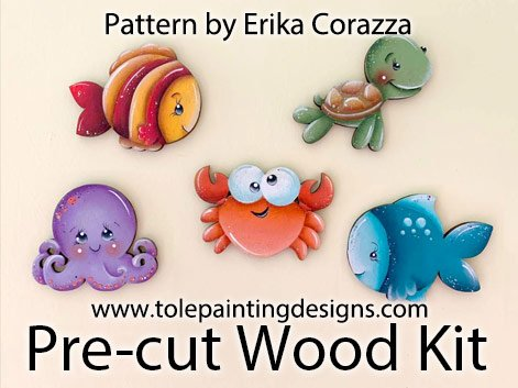 Erika Corazza Painting Pattern Surface