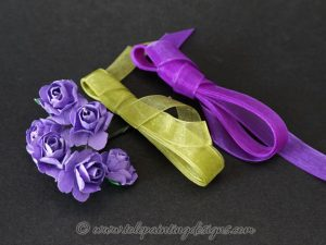 Fabric Rose Painting Supplies