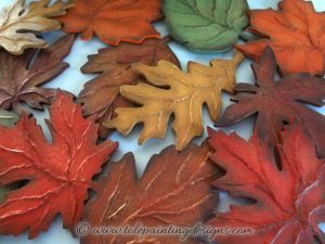 Fall Leaves Craft Project