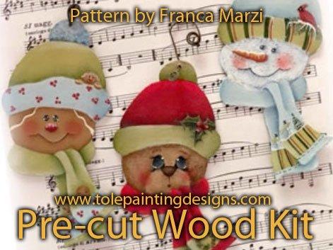 Franca Marzi Painting Pattern