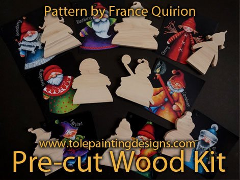 France Quirion Painting Pattern