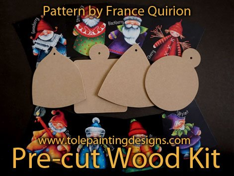 France Quirion Painting Surface