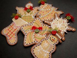 Ginger Cookies Decorative Painting Pattern