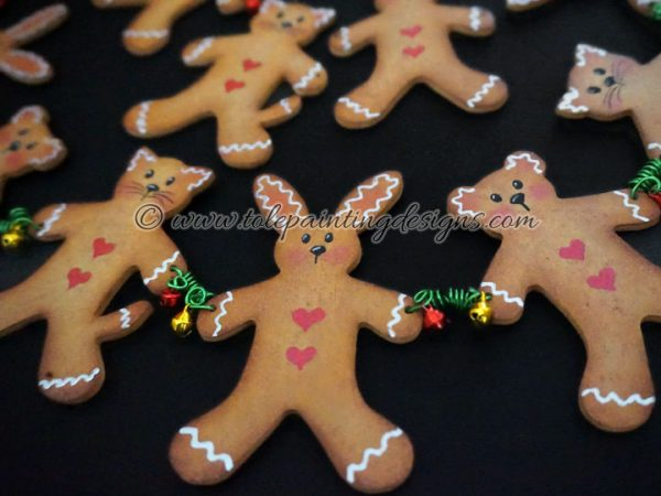 Gingerbread Man Painting Pattern