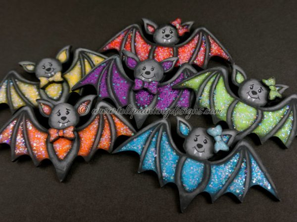 Halloween Bat Painting Pattern