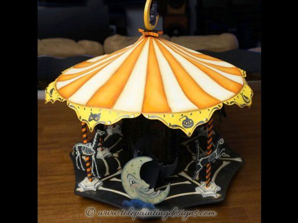 Halloween Carousel Painting Pattern