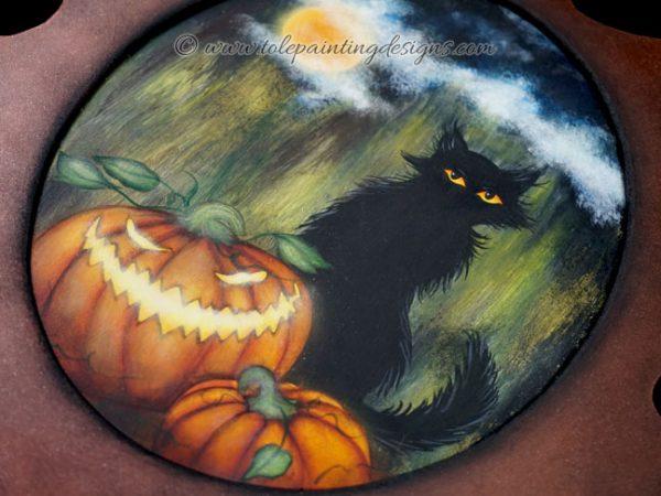 Halloween Tole Painting Pattern