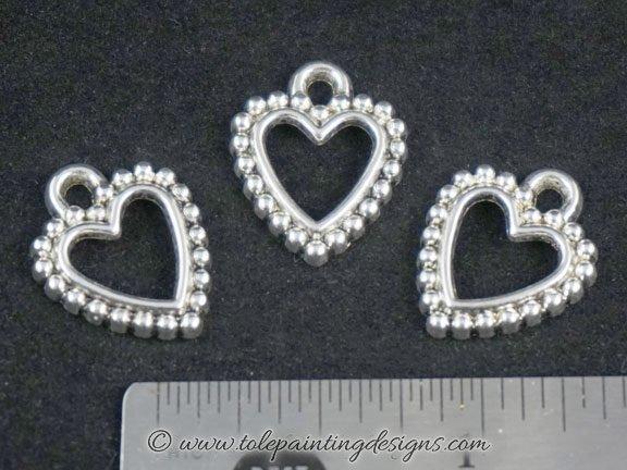 Heart Bracelet Charms