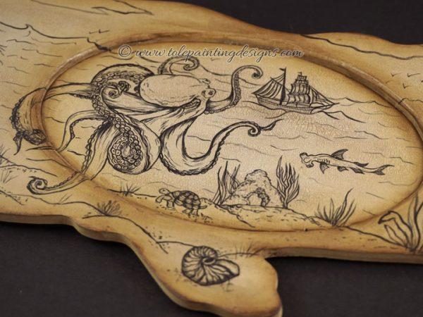 Kraken Painting Pattern