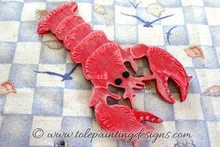 Lobster Painting Pattern