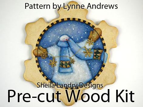 Lynne Andrews Painting Pattern