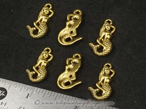 Mermaid Charms Craft Supplies