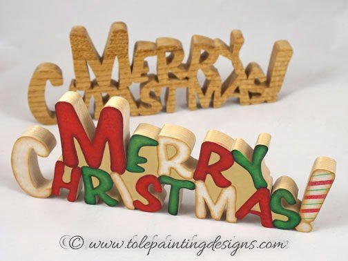 Merry Christmas Painting Pattern