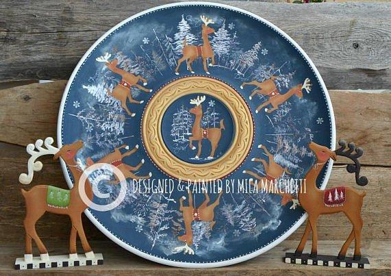 Mila Marchetti Painting Pattern