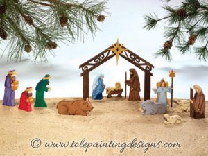 Nativity Decorative Painting Pattern