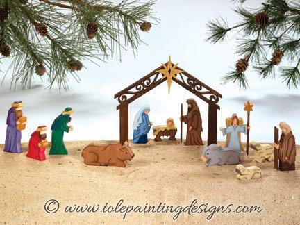 Nativity Decorative Painting Pattern
