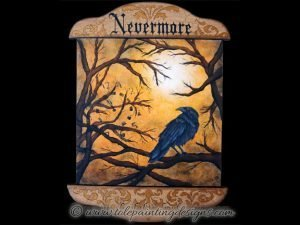 Nevermore Decorative Painting Pattern
