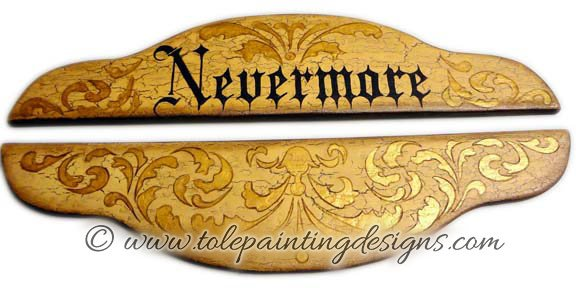 Nevermore Painting Pattern