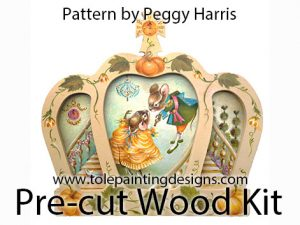 Peggy Harris Cinderella Painting Pattern
