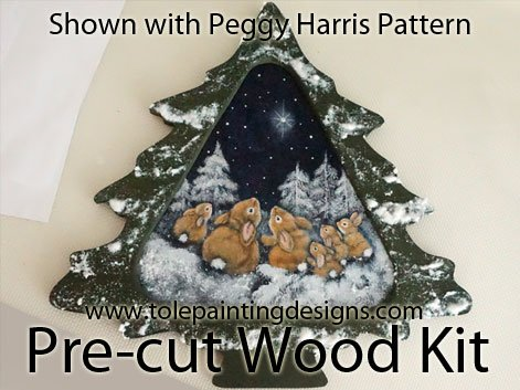 Peggy Harris Painting Pattern