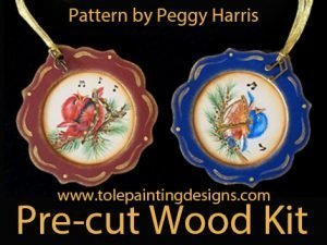 Peggy Harris Songbird Pattern