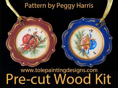 Peggy Harris Songbird Pattern