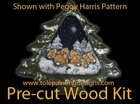 Pine Tree Decorative Painting Surface