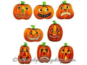 Prim Pumpkins Painting Pattern
