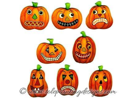 Prim Pumpkins Painting Pattern